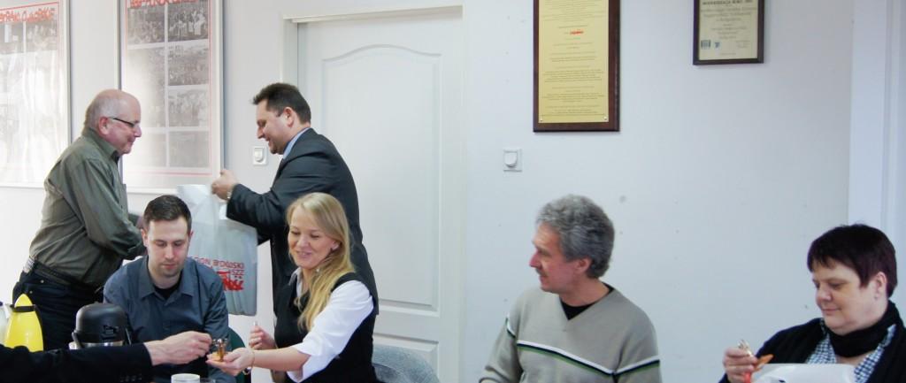 Wizyta delegacji z Niemiec