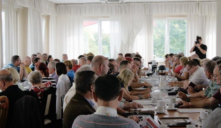 Nadzwyczajne posiedzenie Zarządu Regionu oraz Przewodniczących organizacji związkowych, 23.08.2013 rok