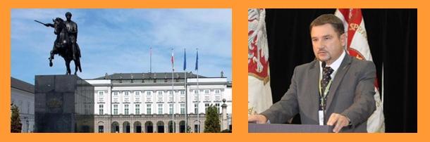 Zaproszenie na spotkanie w Pałacu Prezydenckim