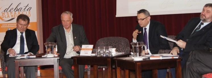 """Debata """"Wsparcie dla Regionu"""", Bydgoszcz 25.02.2013 rok"""