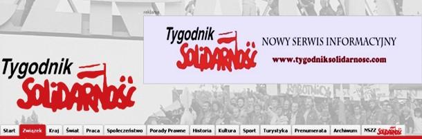 """Ruszył nowy serwis informacyjny """"Tygodnika Solidarność"""""""