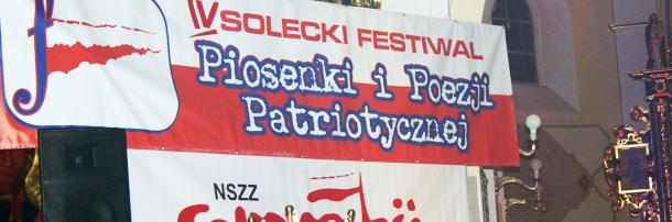 IV Solecki Festiwal Piosenki i Poezji Patriotycznej, 8.11.2013 rok