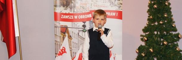 32. rocznica wprowadzenia stanu wojennego, 13.12.2013 r. występy artystów z Solca Kujawskiego
