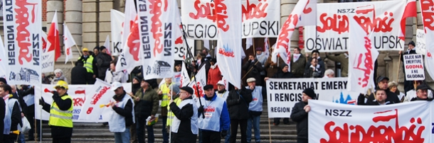 Manifestacja w Szczecinie, 14.01.2014 rok