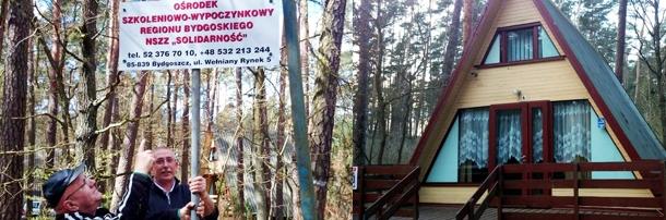 Ośrodek Szkoleniowo-Wypoczynkowy w Wielonku został otwarty!