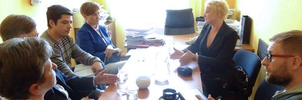 Robocze spotkanie związkowców z kandydatką na prezydenta miasta