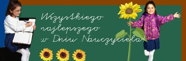 Z okazji Dnia Edukacji Narodowej