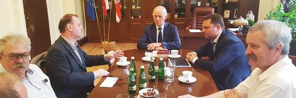 Spotkanie z Prezydentem Grudziądza