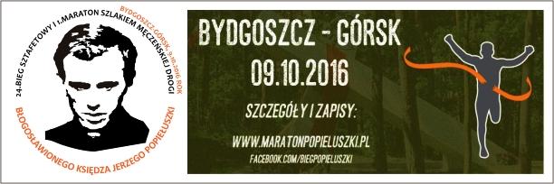 Oficjalna strona Biegu Sztafetowego i Maratonu Szlakiem Męczeńskiej Drogi Bł. Ks. Jerzego Popiełuszki