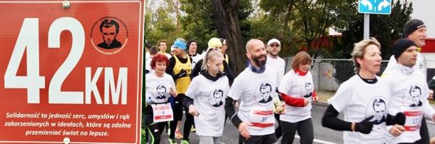 """Pobiegli dla Patrona """"Solidarności"""", Bydgoszcz – Górsk 9.10.2016 rok"""