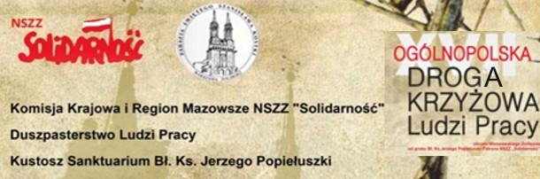 Droga Krzyżowa Ludzi Pracy w Warszawie