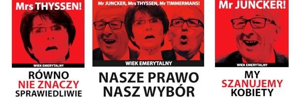 """16 września protest NSZZ """"Solidarność"""" przed siedzibą Komisji Europejskiej w Warszawie!"""