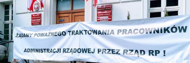 Pikieta budżetówki, Bydgoszcz 28.05.2018 rok