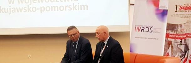 Konferencja K-P WRDS w Ciechocinku